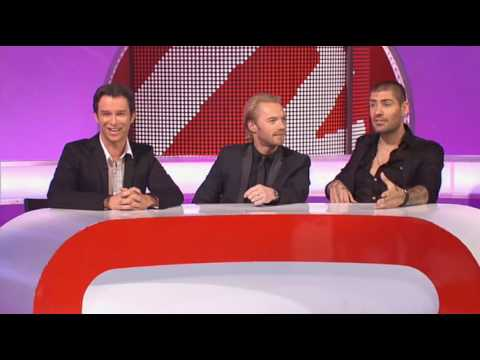 Sunday Night Project - Ronan Keating, Stephen Gately, and Shane Lynch - Part 1 (S7E04)