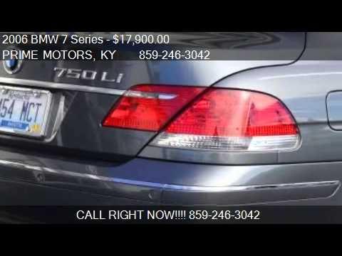 2006 bmw 7 series 750li for sale in lexington ky 40509 for Prime motors lexington ky