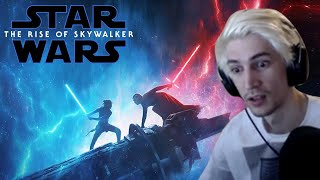 Xqc Reacts To Star Wars The Rise Of Skywalker  Final Trailer