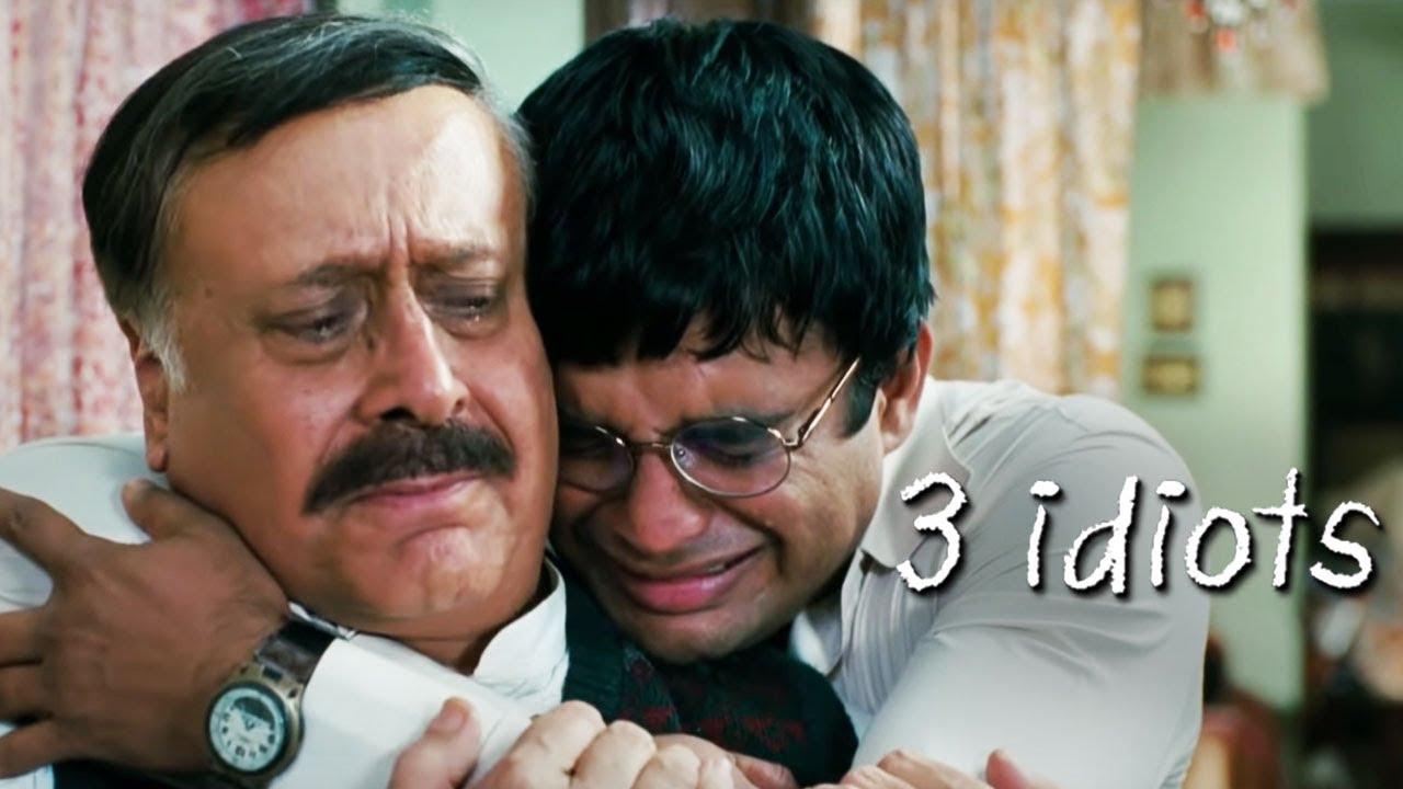 Download 3 Idiots - अब्बा मैं इंजीनियर नही बनना चाहता - Madhavan - Parikshit Sahni Scene