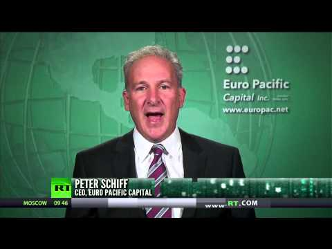 Peter Schiff: Things bankers are good at – creating inflation, making prices go up