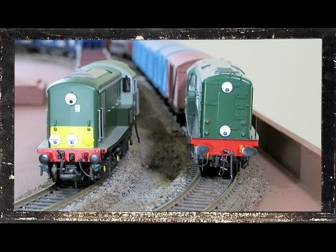 Heljan Class 15 and 16 diesel locomotives. British railways