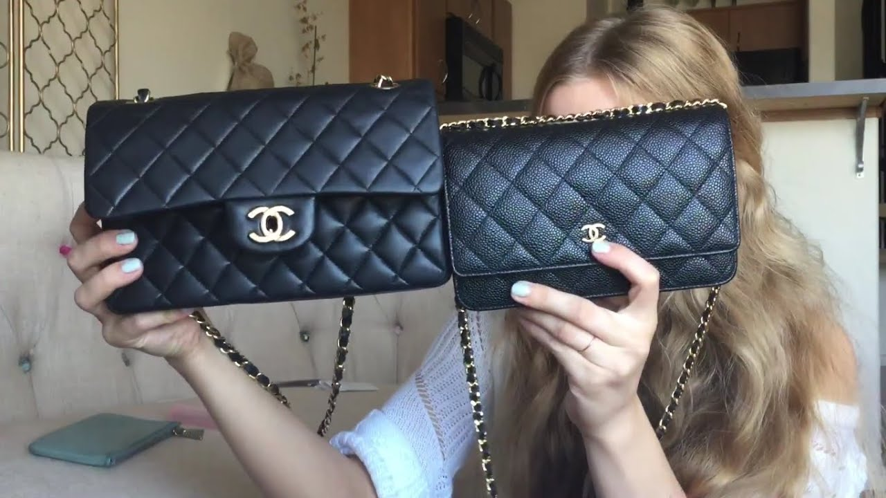6cba2bb03ab4dc Chanel Small Flap vs WOC | Comparison & Review - YouTube