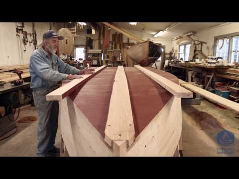 Building the TotalBoat work skiff - Over it goes (Episode 22)
