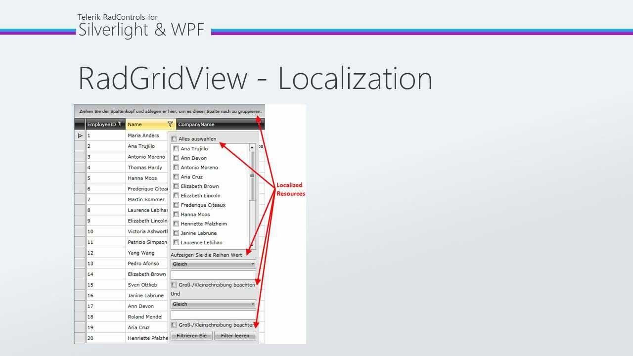 GridView - Part 5: Localization (Silverlight & WPF)