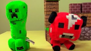 Minecraft toys, игрушки майнкрафт