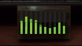 Pocket 10-band audio spectrum analyzer