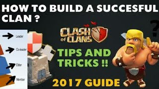 How to run a successful clan in clash of clans|| make good clan in COC|| COC clan secrets