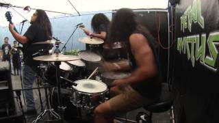 Fueled by Fire - Carlos Gutierrez Drum cam -  07/06/2014