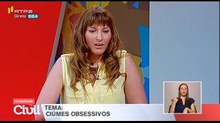 Ciúmes Obsessivos - Catarina Lucas no Sociedade Civil da RTP2 (versão reduzida)