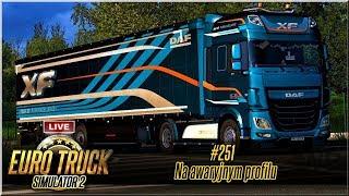 "LIVE   Euro Truck Simulator 2 - #251 ""Na awaryjnym profilu"""