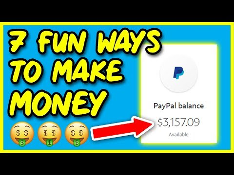 7 FUN and CREATIVE Ways to Make Money Online in 2019