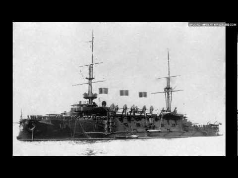 "Гибель крейсера ""Варяг""/Death of cruiser ""Varyag""/Śmierć krążownika ""Wareg"""