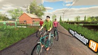 Wycieczka Rowerowa po Wsi ♀️ Rolnicy z Miasta  Farming Simulator 19