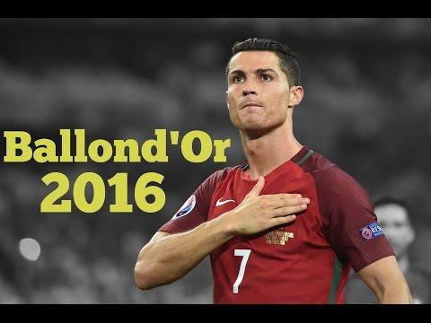 Cristiano Ronaldo - Ballon dOr 2016