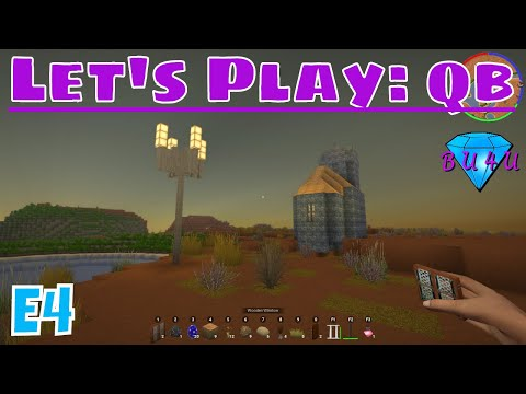 New weapons & cooking - qb | Let's Play | E4