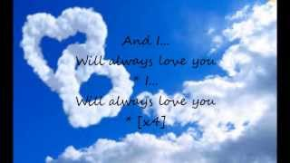 Gambar cover I Will Always Love You Whitney Houston Lyrics ♥
