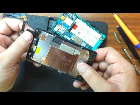 Sony Xperia go (ST27i) замена тачскрина