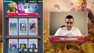 Clash Royale - Максвам третата си карта!