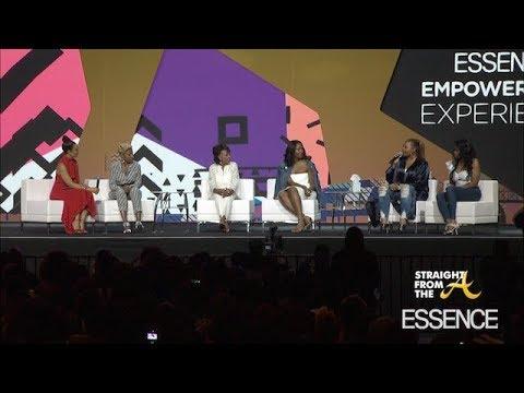Queen Latifah Gets Emotional During EssenceFest Women's Empowerment Panel