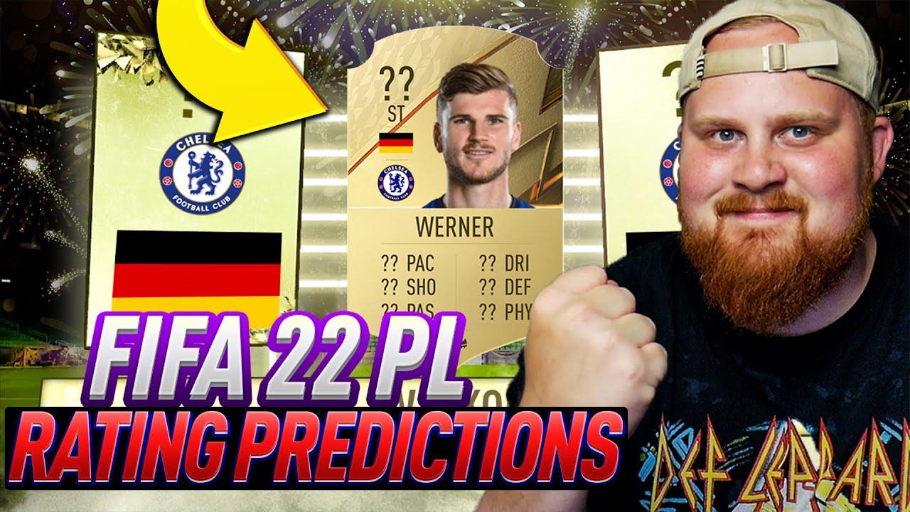 FIFA 22 RATINGS PÅ OP PREMIER LEAGUE SPELARE! - FIFA 22 Predicitons