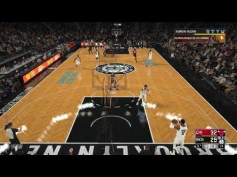 NBA 2K18 Robo y auto alley oop