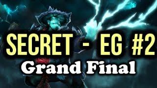 Team Secret vs EG (Evil Geniuses) Highlights ESL One Frankfurt Dota 2 Grand Final Game 2