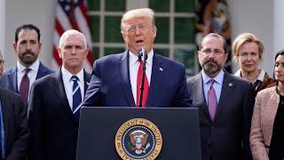 President Donald Trump declares a National Emergency over Coronavirus (COVID-19)