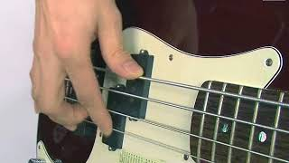 08 베이스기타강의 - 오른손핑거피킹법 알아보기