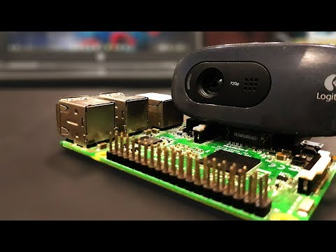 Raspberry Pi - Video Streaming Through USB Webcam