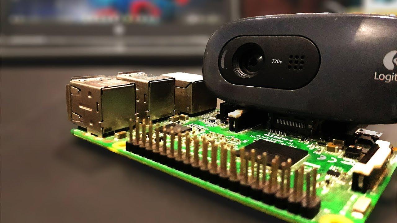 Raspberry Pi - Video Streaming through USB Webcam