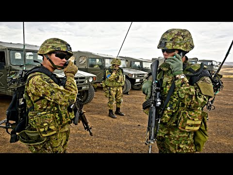Japan Defense Force Training With US Army In Rising Thunder 19