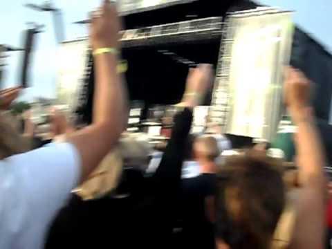 Grøn Koncert 2010, Næstved: Selvmord - Råbe Under Vand (39 sek)