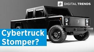 Inside the Bollinger B1 electric truck - Tesla Cybertruck beater?