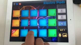 Fazendo música eletrônica no Electro Pads
