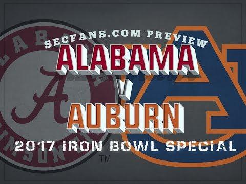 2017 Iron Bowl - Alabama vs Auburn Preview & Predictions - College Football