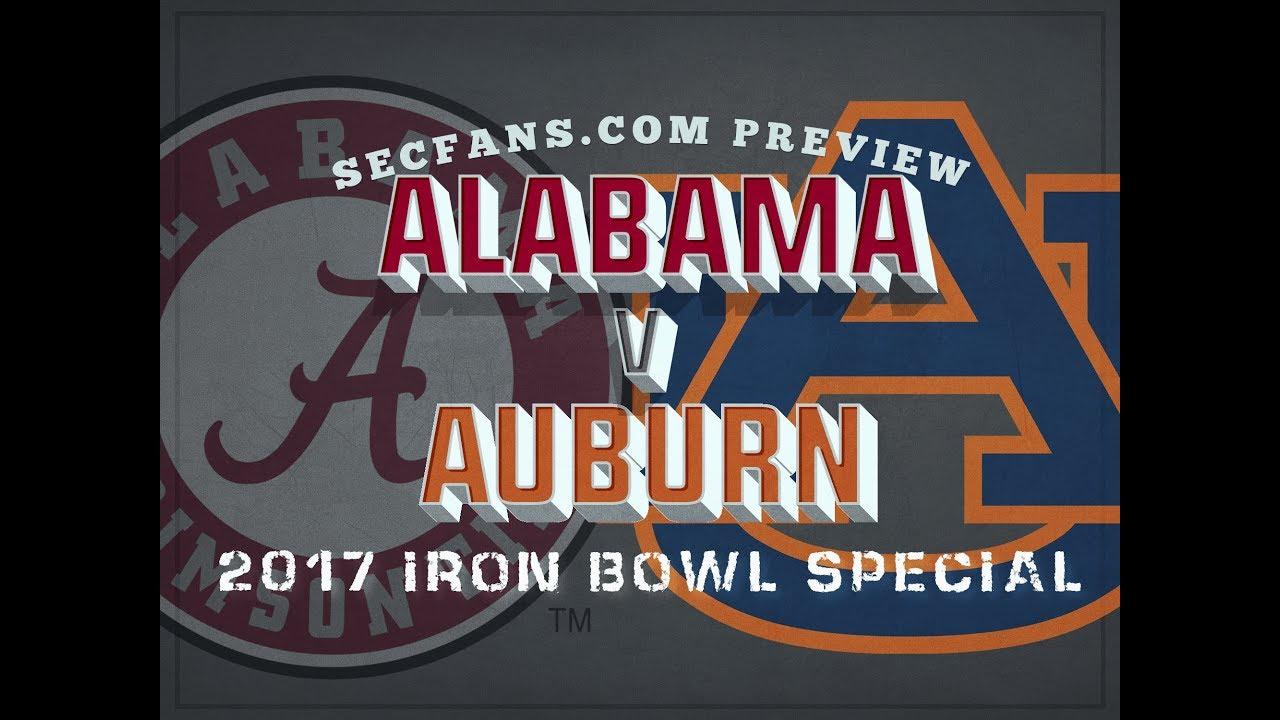 2017 Iron Bowl Alabama Vs Auburn Preview Predictions College