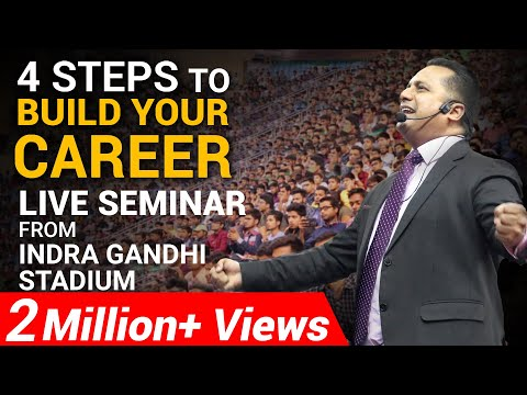 4 Steps to Build Your Career | Student Leadership Conclave | Dr Vivek Bindra