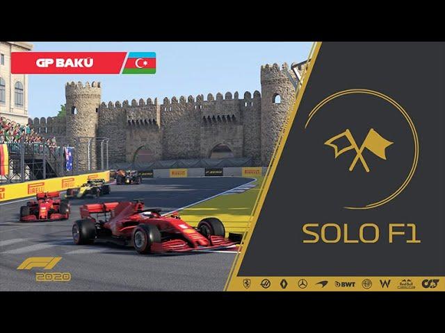🔴 Retrasmisión de SoloF1 (Gp Baku #05)