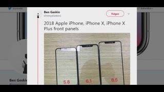 GERÜCHTEKÜCHE BRODELT:  Apple plant womöglich drei neue iPhone-Modelle