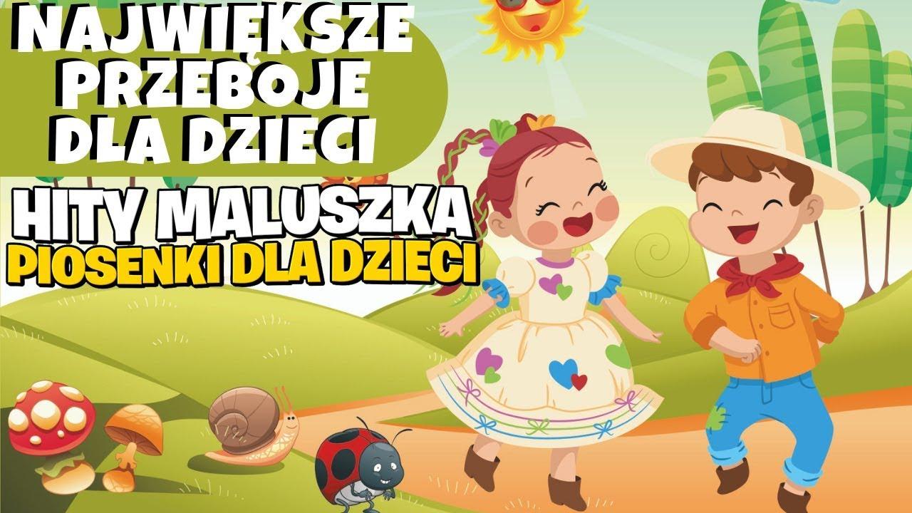 Kaczuszka I Maki Biedroneczki Sa W Kropeczki Grazyna Switala I Zespol Dzieciecy Sloneczni Youtube