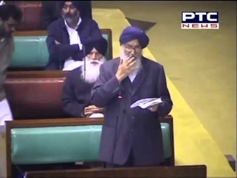 Punjab, Chief Minister Parkash Singh Badal Speech in Punjab Vidhan Sabha