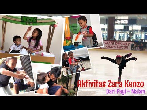 DAILY ROUTINE | Kegiatan Belajar Anak Homeschooling | Zara Membuat Prakarya - Punya Kolam Ikan Baru