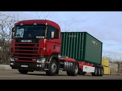 ETS2 1.28 ProMods 2.20 Scania 114L Bremerhaven - Leipzig