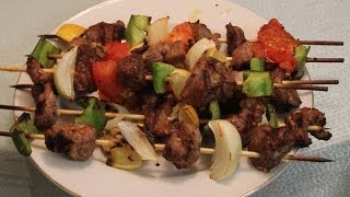 Worlds Best  Lamb Shish  Kabob Recipe
