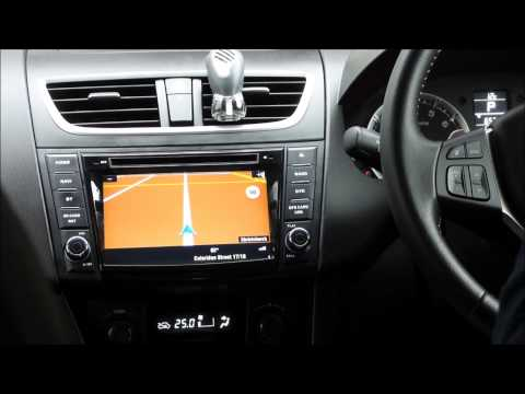 OEM Audio NZ 2010 -2015 Suzuki Swift In-Car-Media unit, with reverse camera