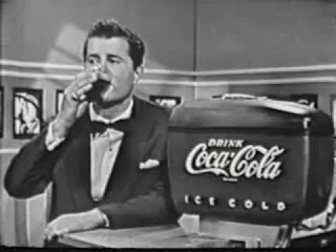 Vintage Old 1950's Coca Cola Commercial from 1954