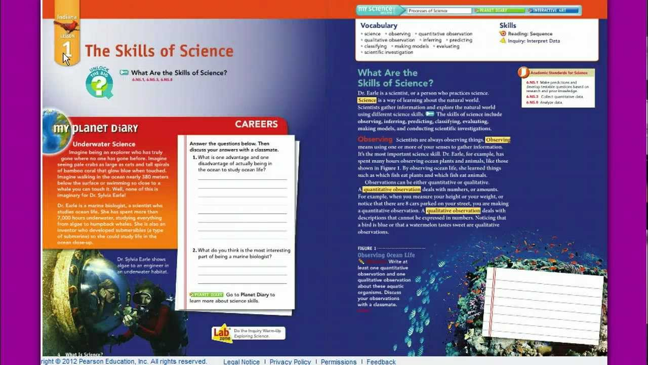 Interactive Science The Online Book Youtube