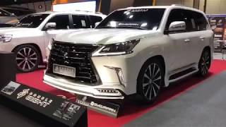 Тюнинг Краснодар обвес Double Eight выставка в ОАЭ Lexus LX 570 / 450D (tuning-elite.com)