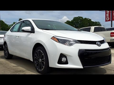2015 toyota corolla s plus full review start up exhaust youtube. Black Bedroom Furniture Sets. Home Design Ideas